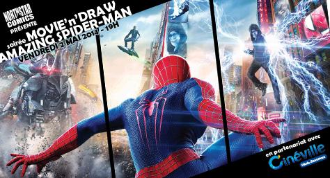 [Evènement] Soirée Movie'n'Draw spéciale Spider-Man