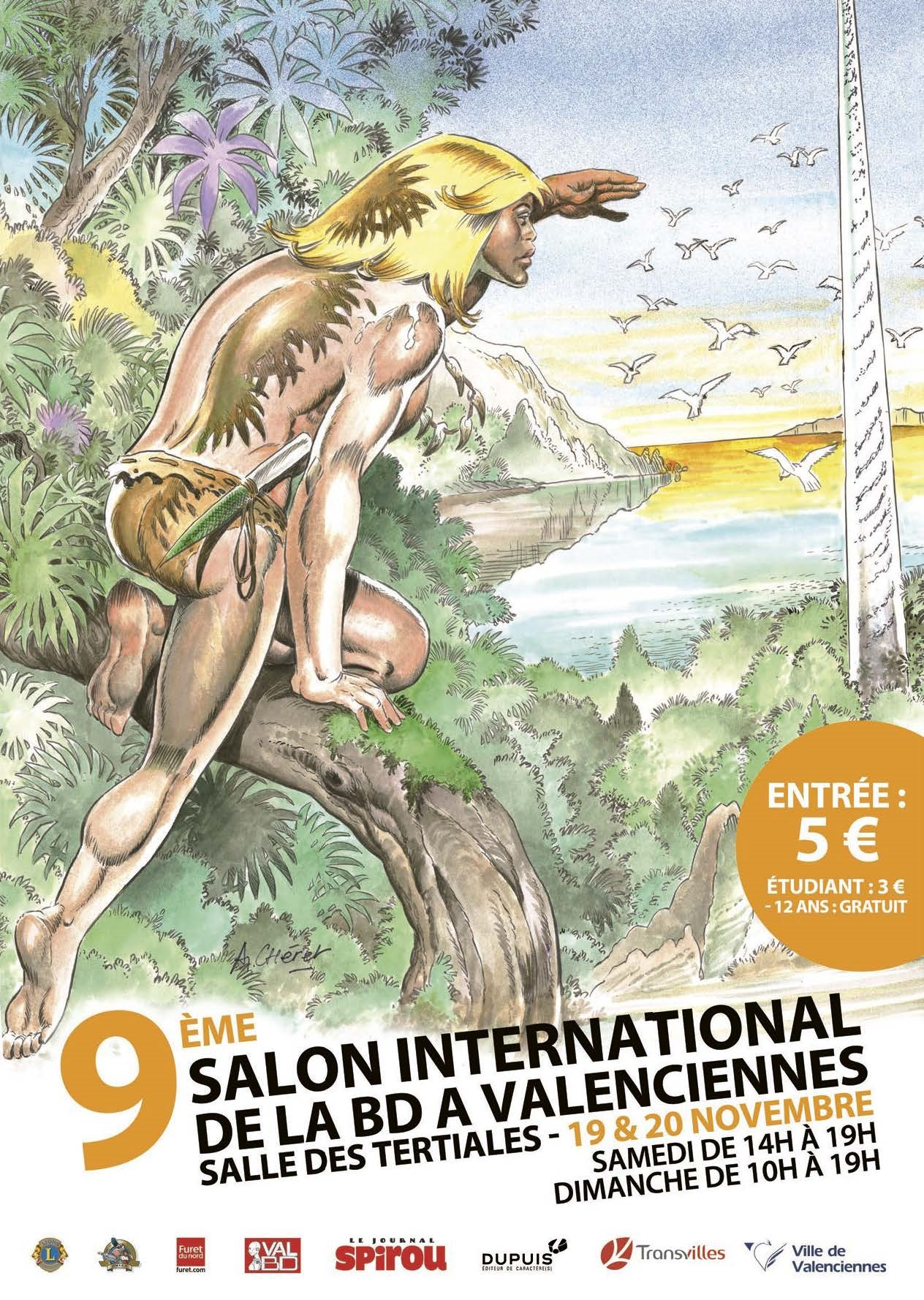 Northstar comics au festival international de la bd de for Salon de the valenciennes