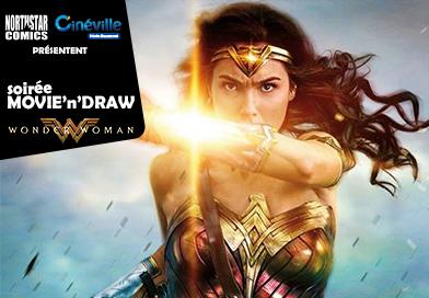 Soirée Movie'n'Draw Wonder Woman