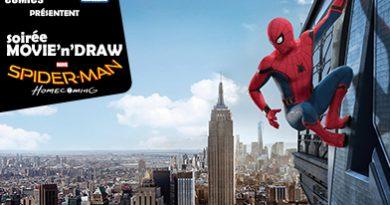 Movie'n'Draw Spider-Man