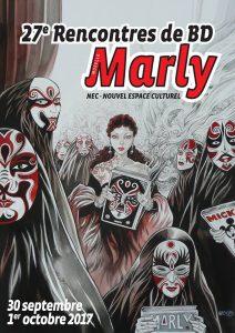 Rencontres BD de Marly - Affiche