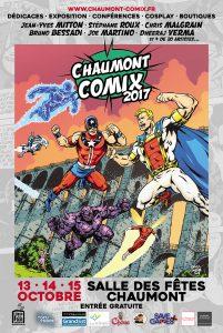 affiche Chaumont Comix
