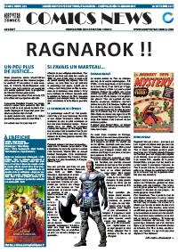 Comics News Thor: Ragnarok