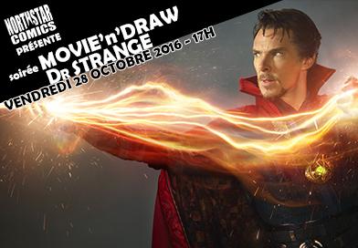 Soirée Movie'n'Draw spéciale Dr Strange