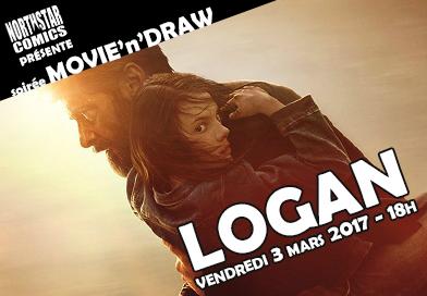 Soirée Movie'n'Draw spéciale Logan