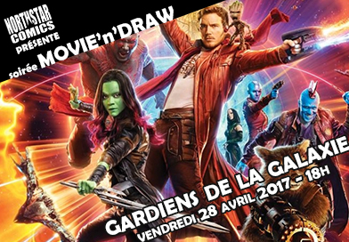 Movie'n'Draw Gardiens de la Galaxie 2