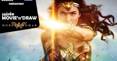 Soirée Movie'n'Draw Wonder Woman