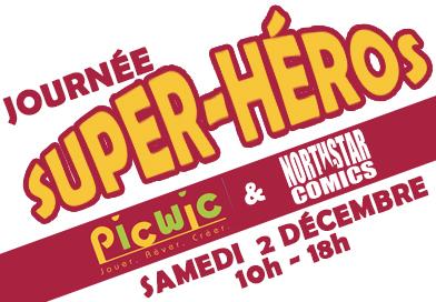 Journée spéciale super-héros à PicWic Douai