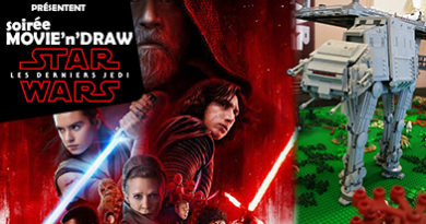 Movie'n'Draw Star Wars : les Derniers Jedi