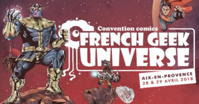 French Geek Universe : Convention Comics