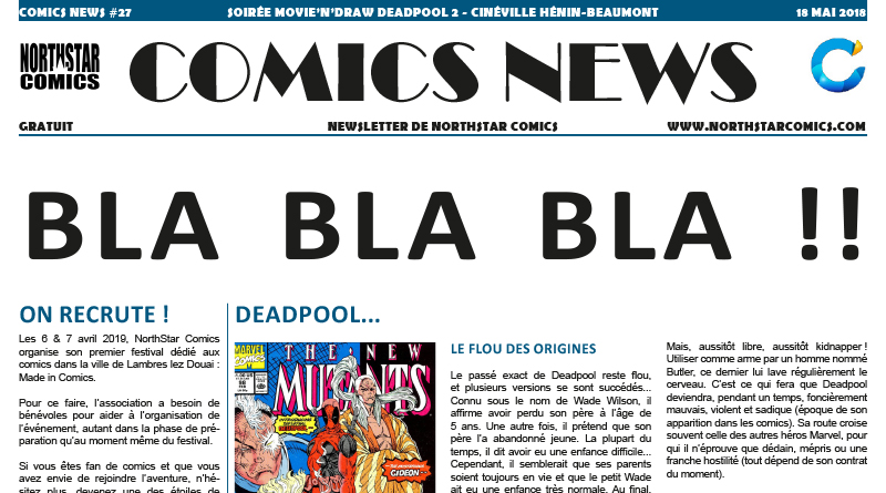 Comics News Deadpool 2