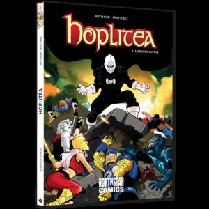 Couverture du tome 3 d'Hoplitéa